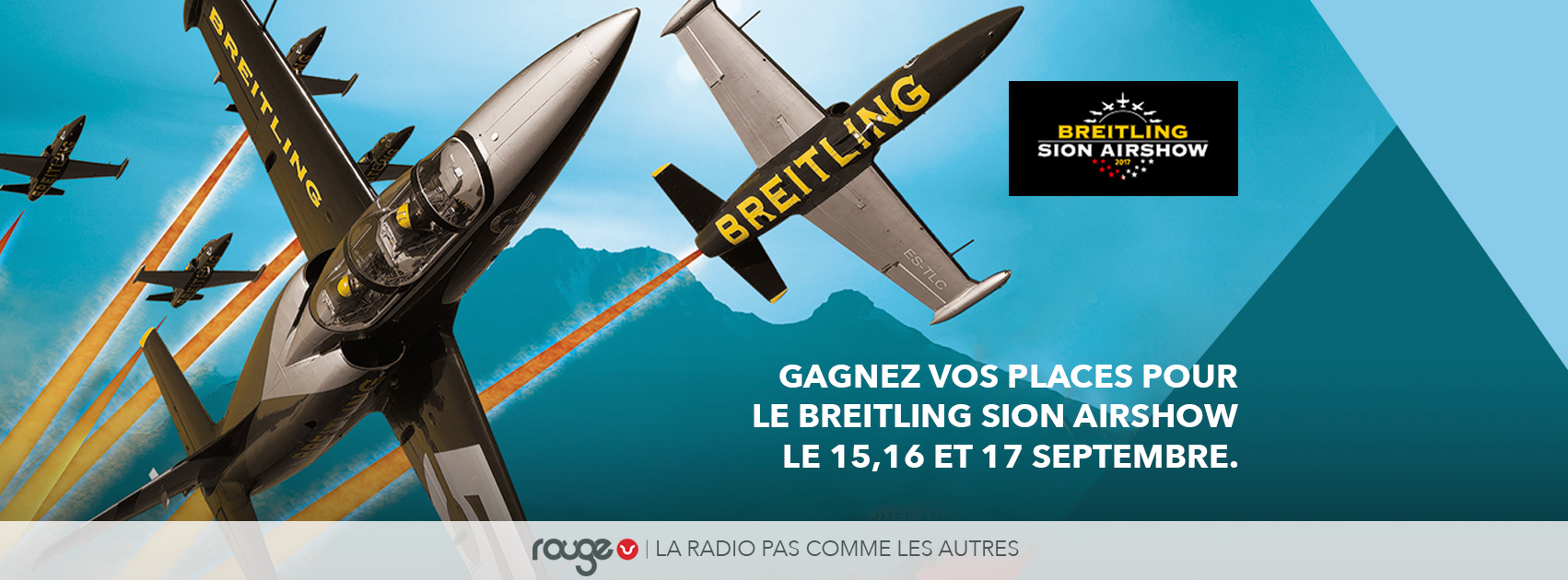 Concours Breitling Sion Air Show | Rouge FM