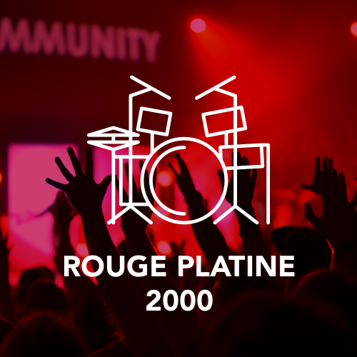 ROUGE PLATINE 2000